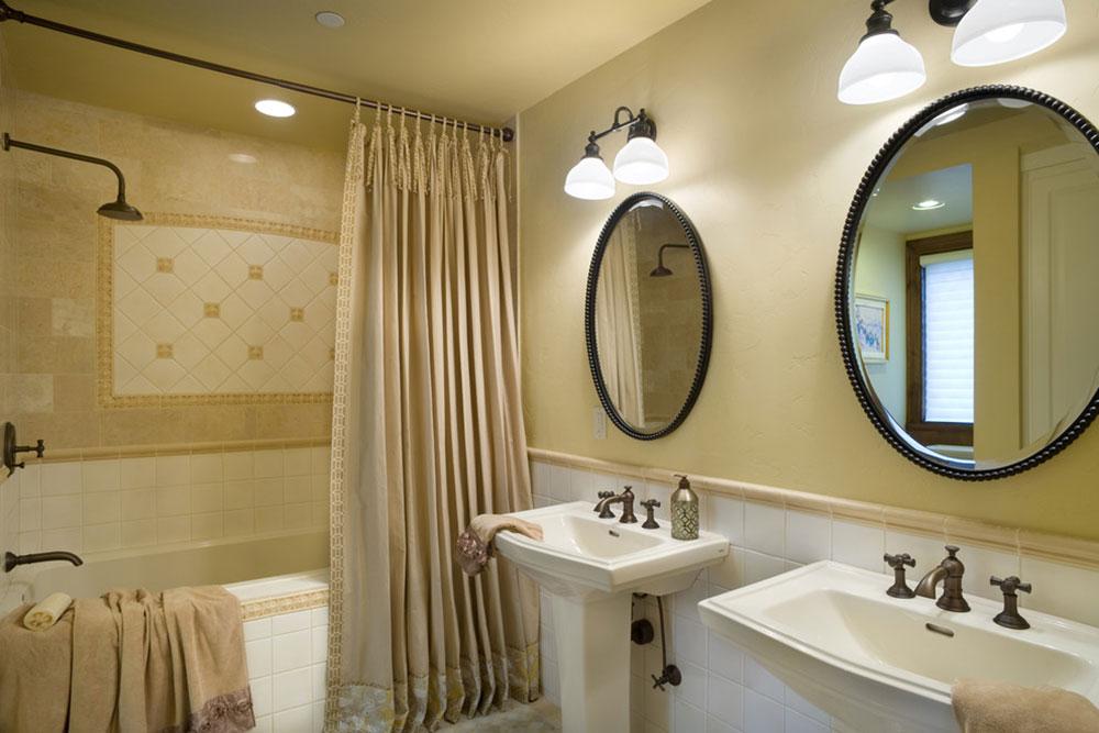 Förbättra ditt badrumsutseende med trendiga duschdraperier12 trendiga duschdraperier för ditt badrum