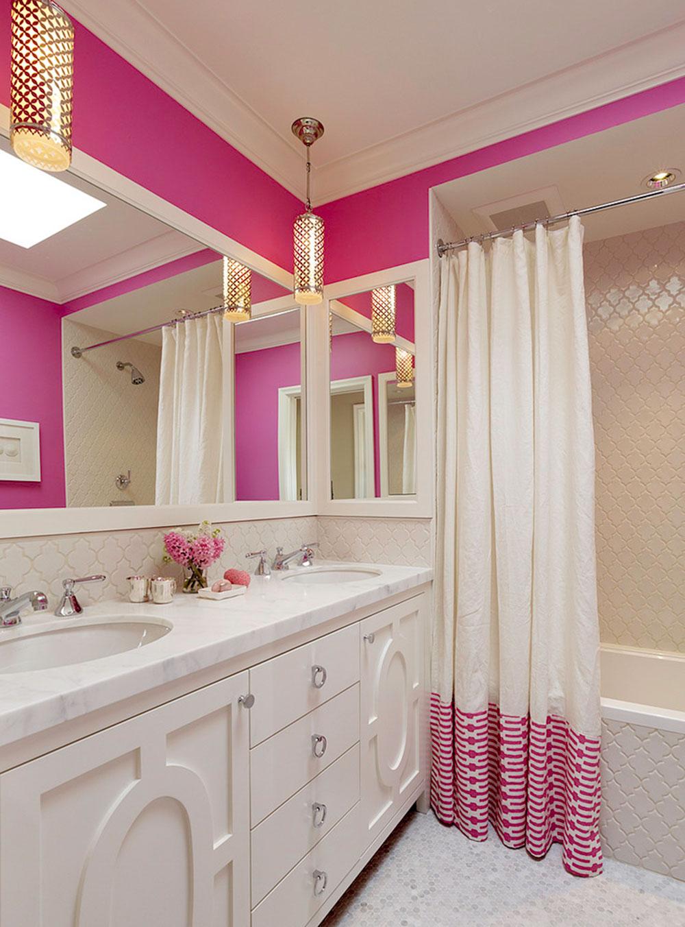 Förbättra ditt badrumsutseende med trendiga duschdraperier 5 trendiga duschdraperier för ditt badrum