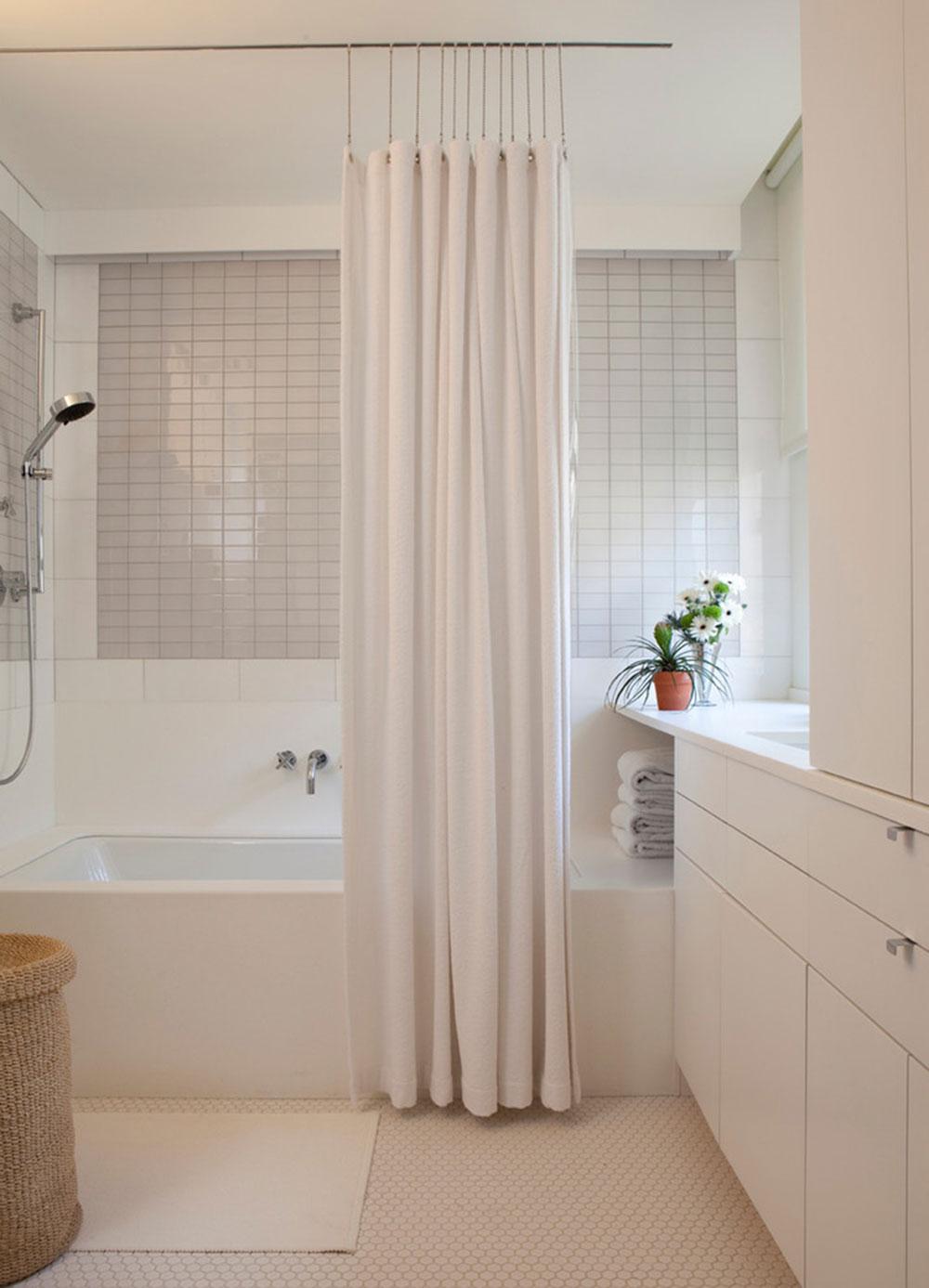 Förbättra ditt badrumsutseende med trendiga duschdraperier3 trendiga duschdraperier för ditt badrum