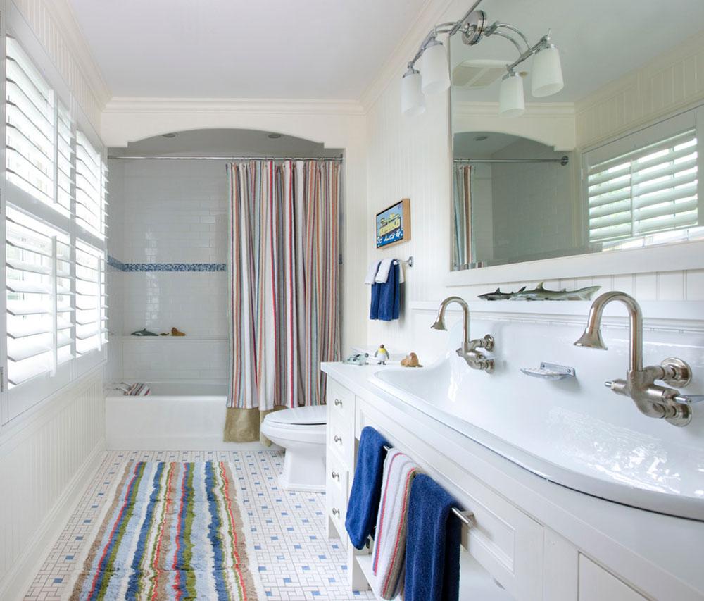 Förbättra ditt badrumsutseende med trendiga duschdraperier. 14 trendiga duschdraperier för ditt badrum