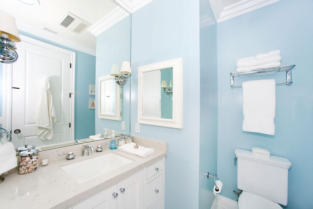 Globus-Builder-by-Globus-Builder Blå badrumsidéer.  Design, dekor och tillbehör