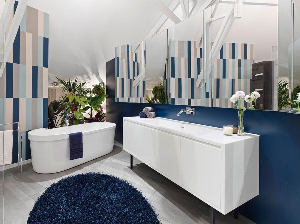Loft-ESN-von-Ippolito-Fleitz-Gruppe -–- Identity-Architects Blå badrumsidéer.  Design, dekor och tillbehör