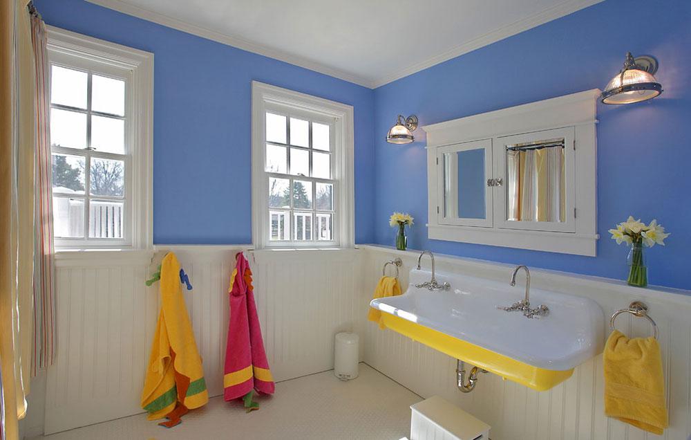 Badrum-by-the-block-byggare-gruppen Blå badrum idéer.  Design, dekor och tillbehör