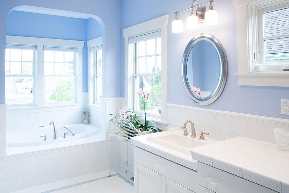 Blue-Bathroom-by-Paul-Moon-Design Blue-badrumsidéer.  Design, dekor och tillbehör