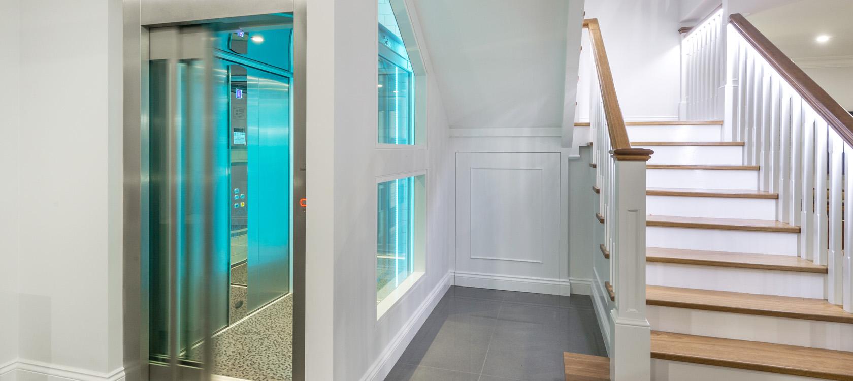 megaband -omatic2 Kan jag installera en hiss i mitt hus?