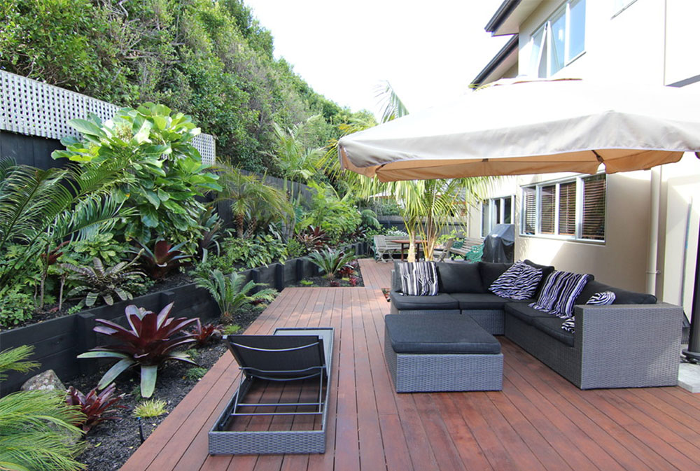 Zen-and-Sub-Tropical-Landscape-by-Zones-Landscaping-Specialists Paraply Plant: How to Decorate With It
