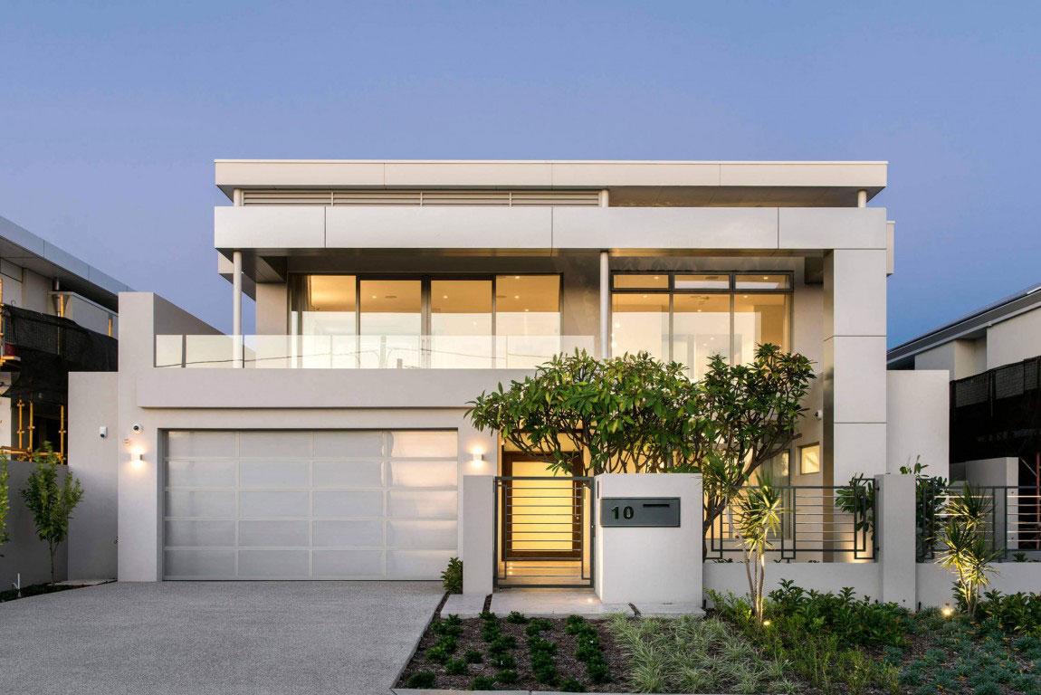Attraktivt hus med balanserad arkitektur och inredning 2 Attraktivt hus med balanserad arkitektur och inredning