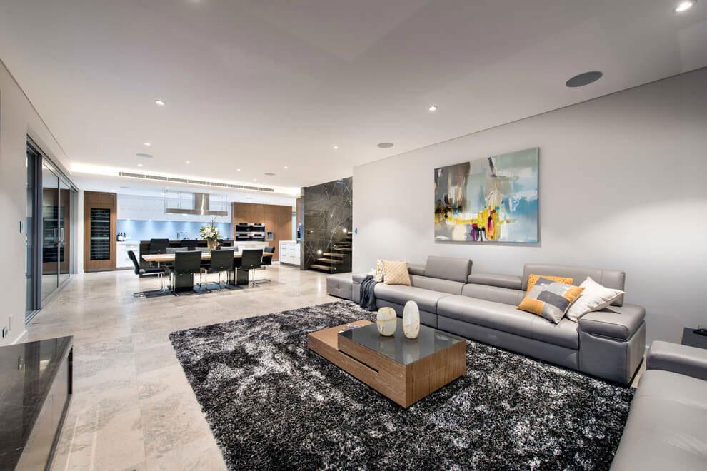 Attraktivt hus med balanserad arkitektur och inredning 4 Attraktivt hus med balanserad arkitektur och inredning
