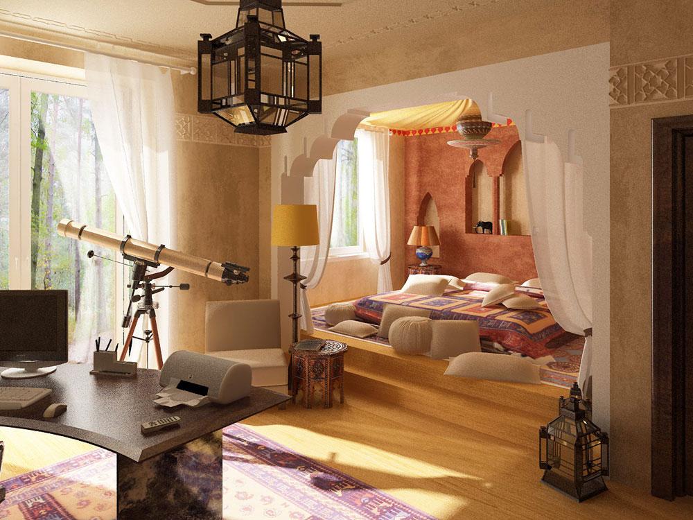 Marockanska inrednings-idéer-bilder-och-möbler-8 Marockanska inrednings-idéer, bilder och möbler