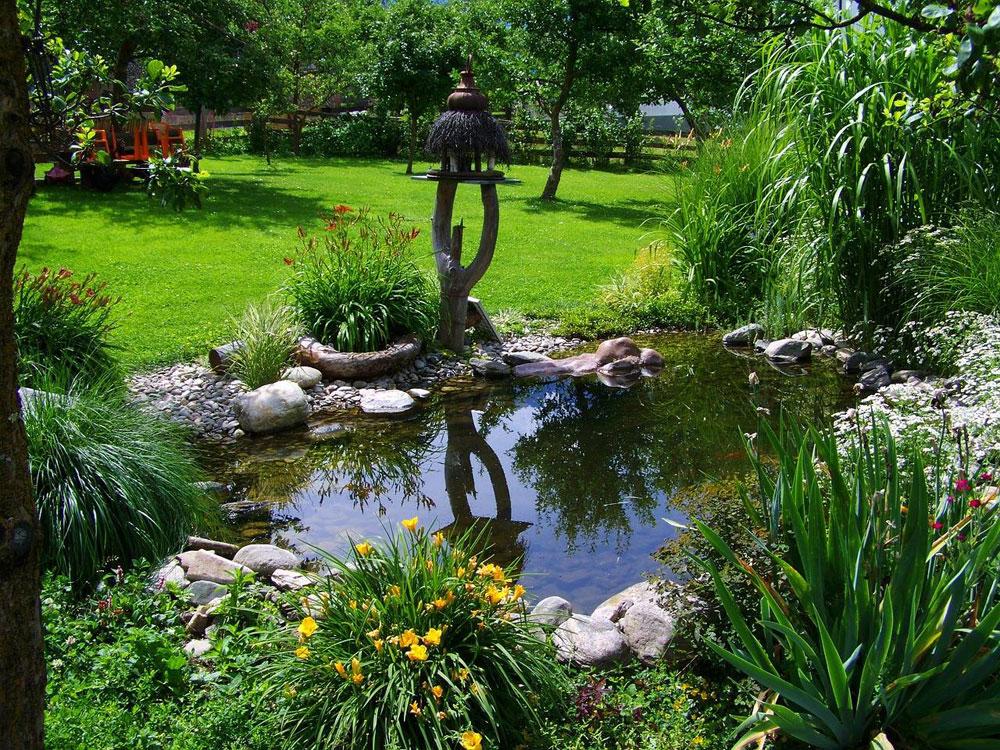 Skapa en unik bakgård med dessa trädgårdsdammdesignidéer-6 Skapa en unik bakgård med dessa trädgårdsdammdesignidéer
