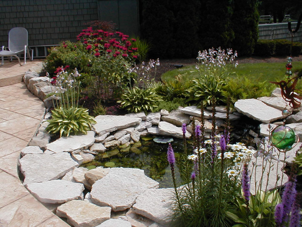 Skapa en unik bakgård med dessa trädgårdsdammdesignidéer-8 Skapa en unik bakgård med dessa trädgårdsdammdesignidéer