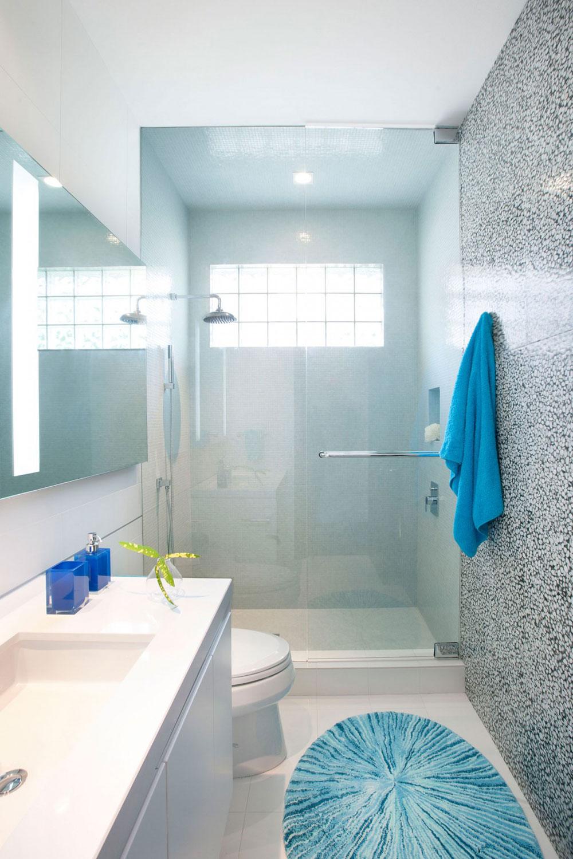 Hur man dekorerar ett litet badrum och ändå sparar utrymme 7 Hur man dekorerar ett litet badrum och ändå sparar plats