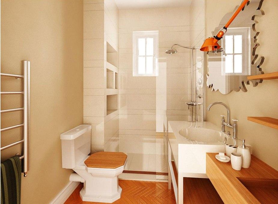 Hur man dekorerar ett litet badrum och ändå sparar plats 1 Hur man dekorerar ett litet badrum och ändå sparar plats