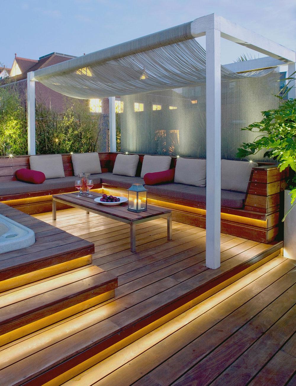 16 idéer för att skapa ett utomhusbostadsutrymme
