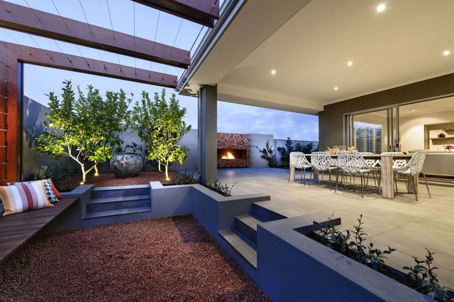 13 Mysigt Perth-hem med snygg design av Webb & Brown-Neaves