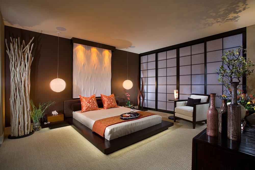 Hur man designar ett japanskt sovrum 1 Hur man designar ett japanskt sovrum