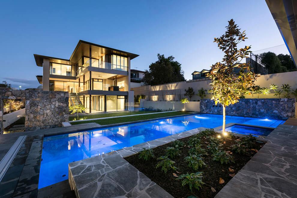 Modernt hus med ett speciellt utseende 18 Modernt hus med ett speciellt utseende