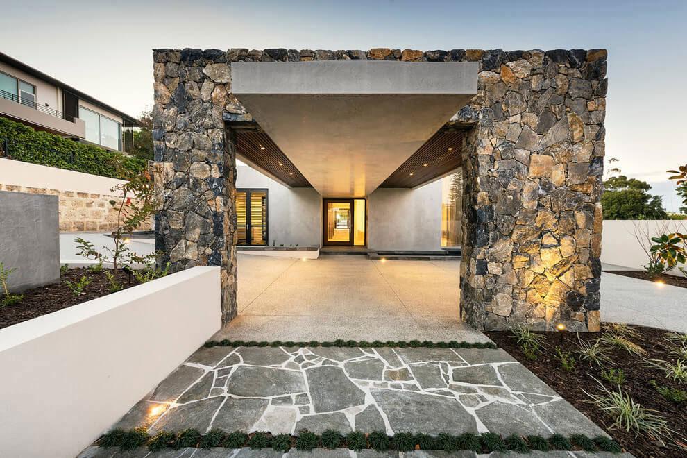 Modernt hus med ett speciellt utseende 2 Modernt hus med ett speciellt utseende