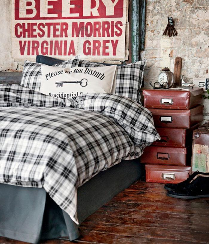 69800255591 Idéer för att dekorera ditt sovrum i industriell stil
