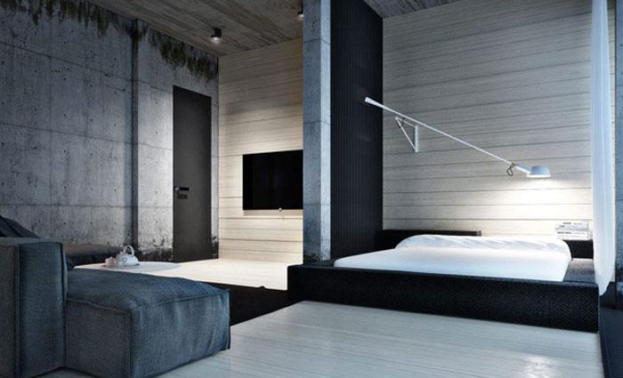 69800207241 Idéer för att dekorera ditt sovrum i industriell stil