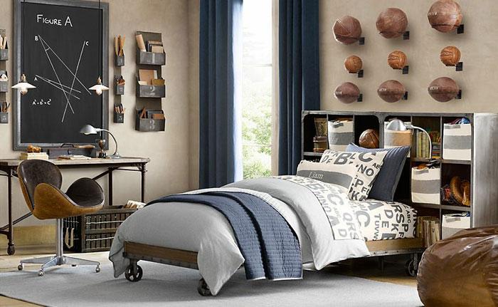69800296522 Idéer för att dekorera ditt sovrum i industriell stil