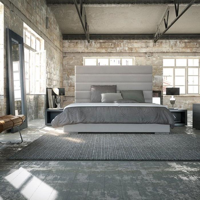 69800370030 Idéer för att dekorera ditt sovrum i industriell stil