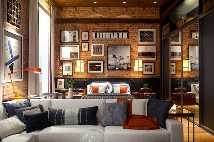 69800431216 Idéer för att dekorera ditt sovrum i industriell stil