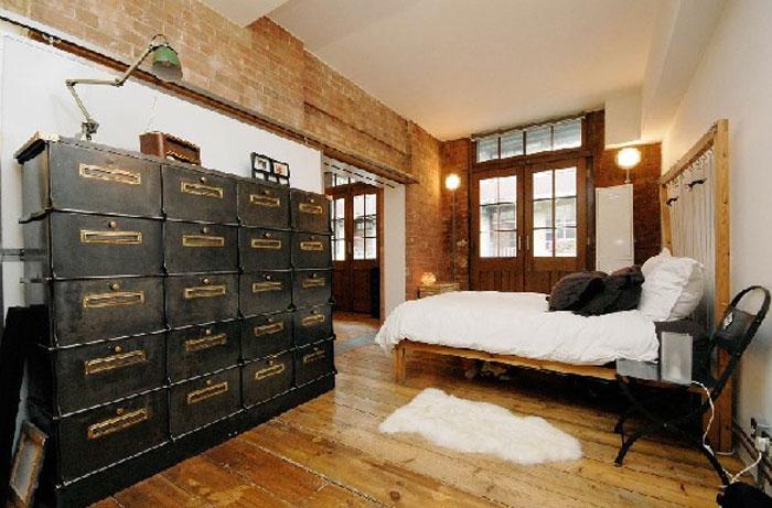 69800413346 Idéer för att dekorera ditt sovrum i industriell stil