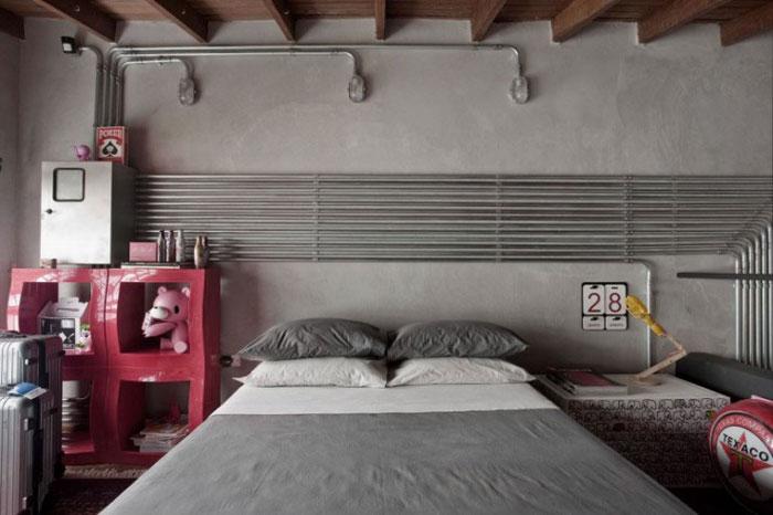 69800442559 Idéer för att dekorera ditt sovrum i industriell stil