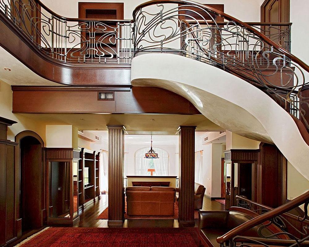 1393518609_style-modern-or-art-nouveau Art Nouveau interiördesign med stil, dekor och färger
