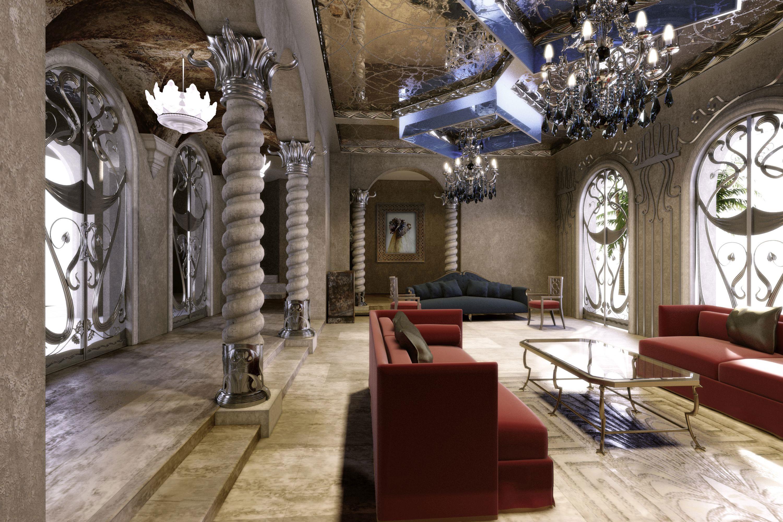 Art Nouveau-interiör-design-med-sin-stil-dekor-och-färger-1 Art Nouveau-interiördesign-med sin stil, dekor och färger