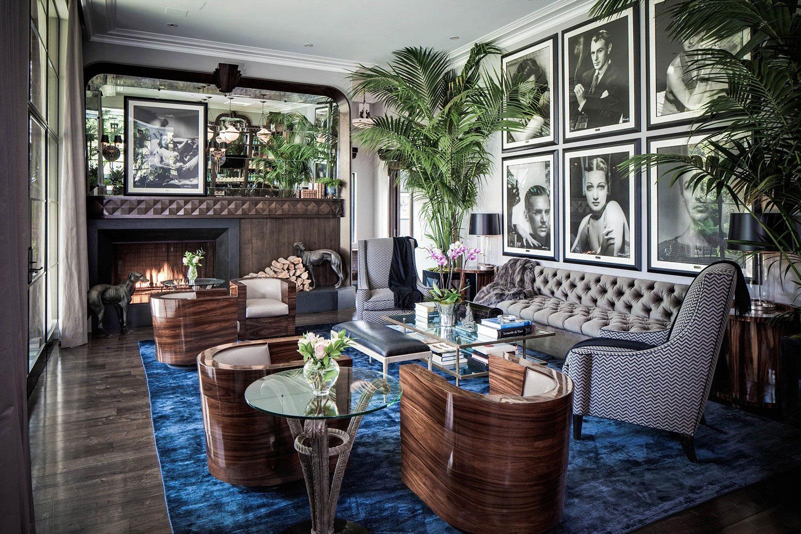 Art Nouveau-interiör-design-med-sin-stil-dekor-och-färger-8 Art Nouveau-interiör design med sin stil, dekor och färger