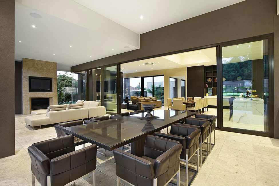 Glänsande och vackert lyxresidens 4 Glänsande och vackert lyxresidens designat av Bagnato Architects
