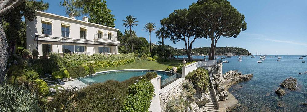 Lyxvilla - direkt vid havet på Cote-d-Azur Effektiva idéer för gör-det-själv som förbättrar det övergripande utseendet på din lyxvilla