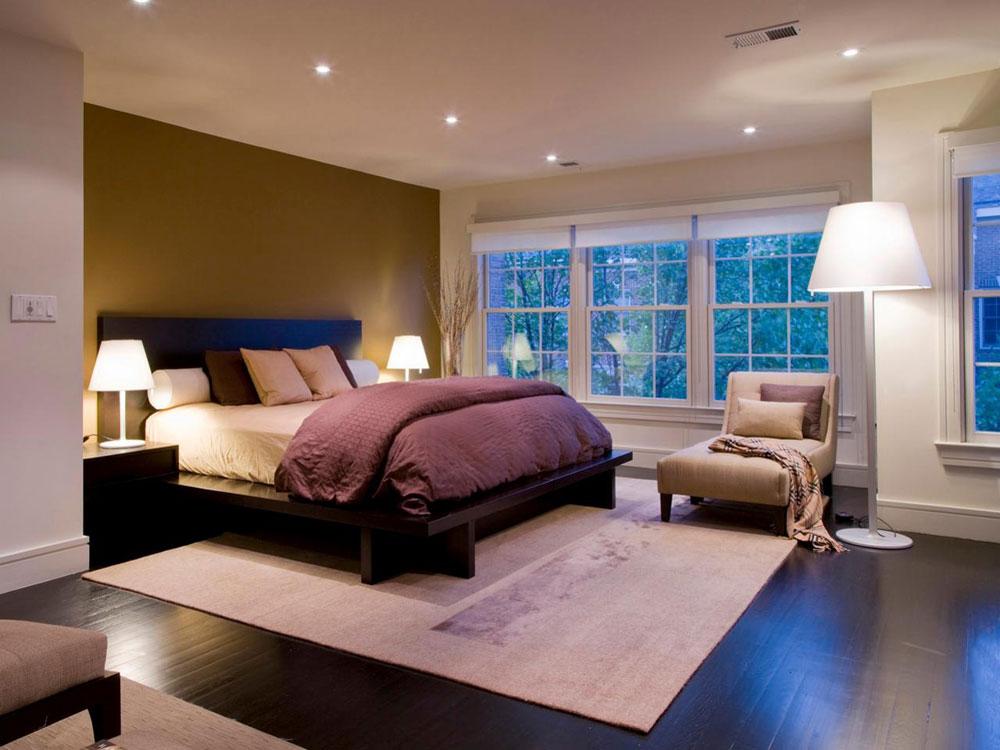 Belysningseffekter Master Bedroom färger Idéer och tekniker
