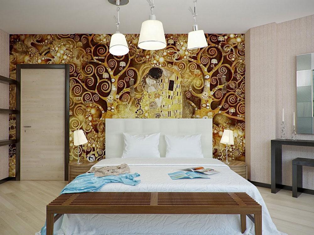 MÖRDNING-PÅ-VÄGGARNA sovrummet färgar idéer och tekniker