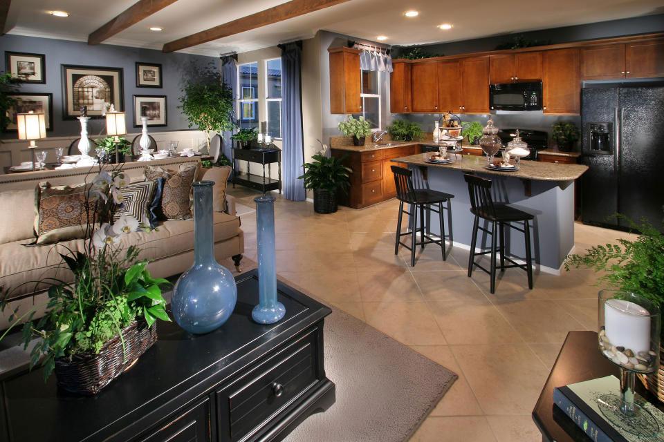 Living-and-Dining-Interior-Design-13 exempel på vardagsrum-matsal inredning att kolla in