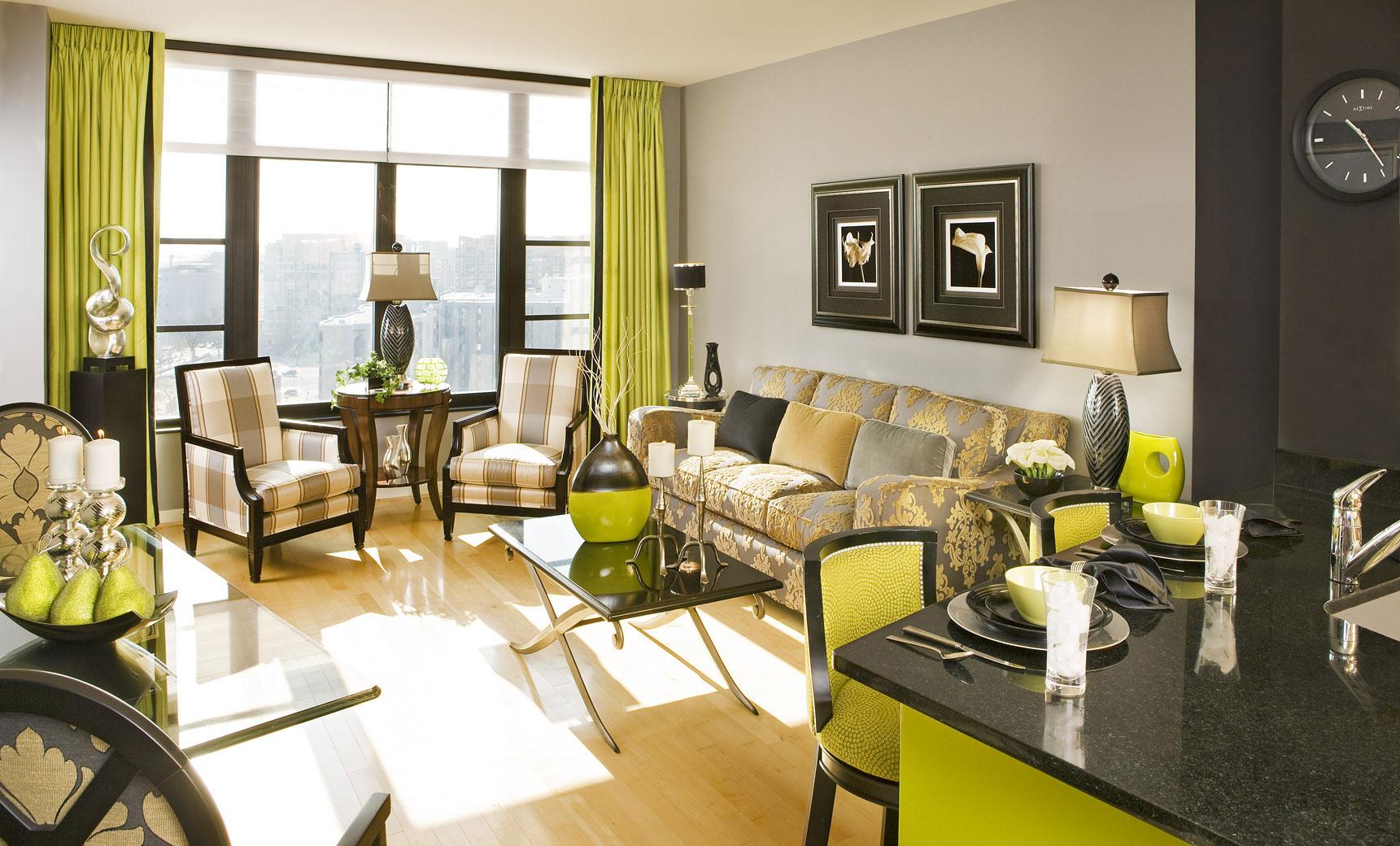 Living-and-Dining-Interior-Design-12 exempel på vardagsrum-matsal inredning att kolla in
