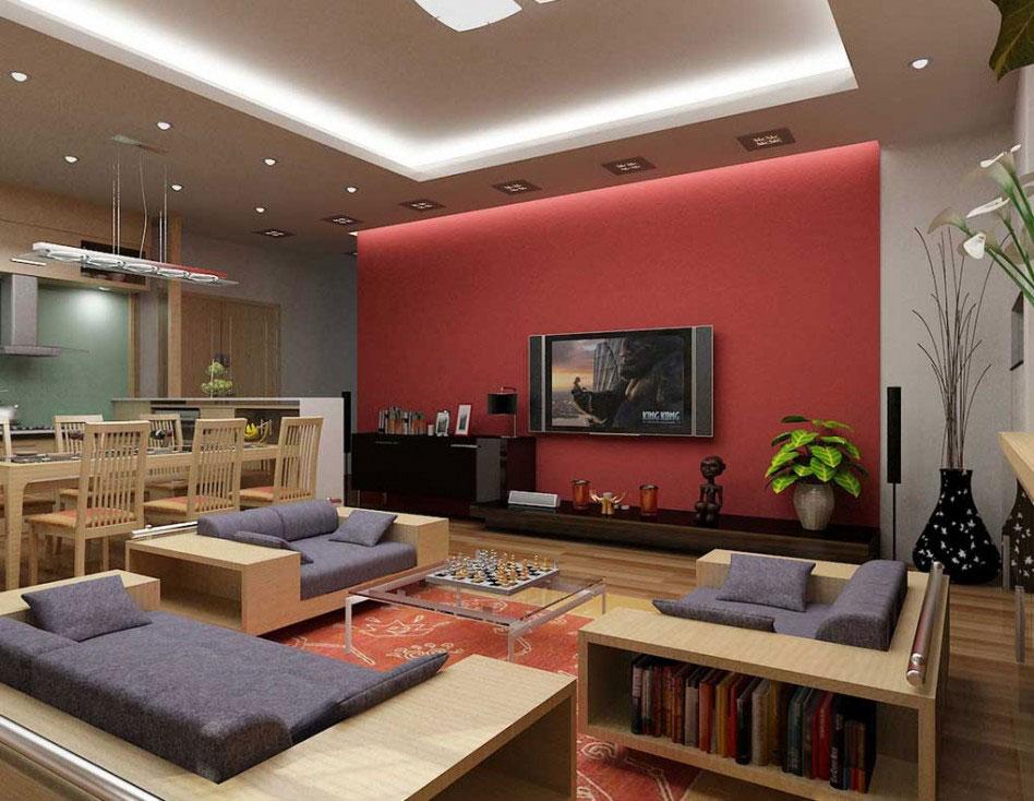 Living-and-dining-interior-design-8 exempel på living-dining-room interiördesign att kolla in