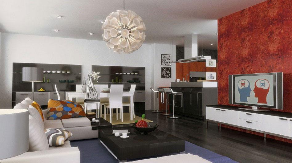 Living-and-Dining-Interior-Design-6 exempel på vardagsrum-dining room inredning att kolla in