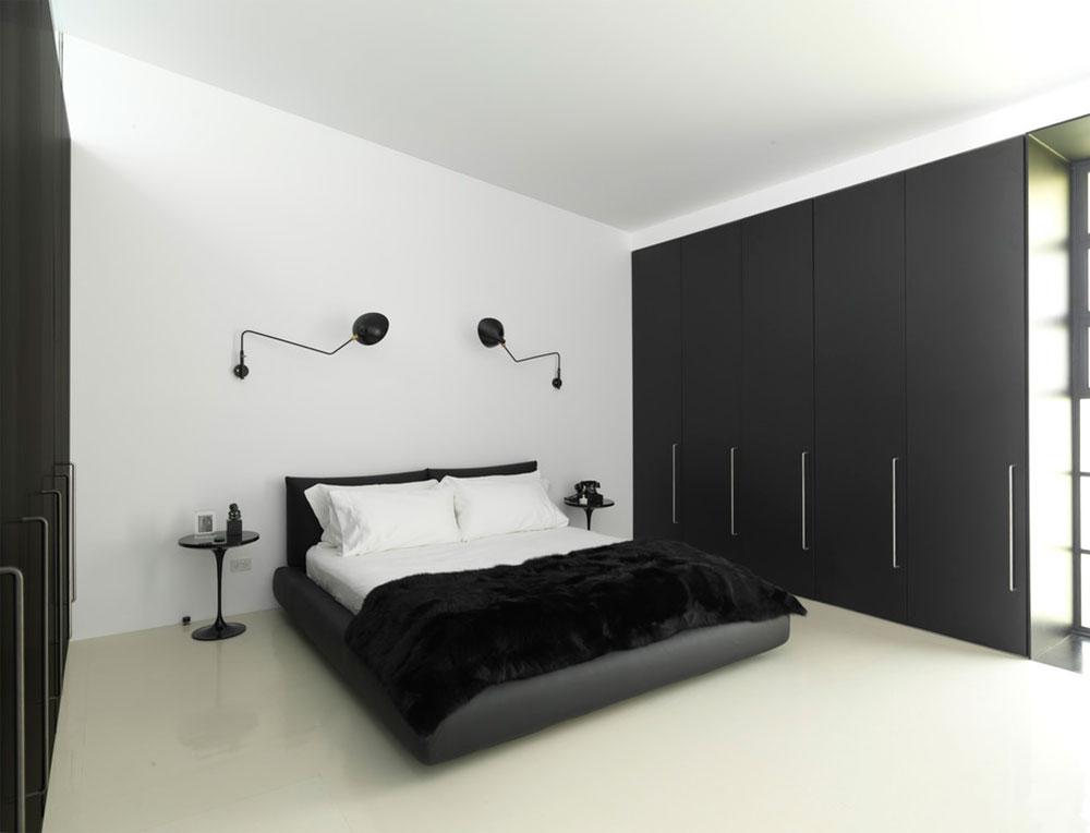 Alltid eleganta svarta och vita sovrumsidéer 4 Svarta och vita sovrumsidéer - Alltid eleganta