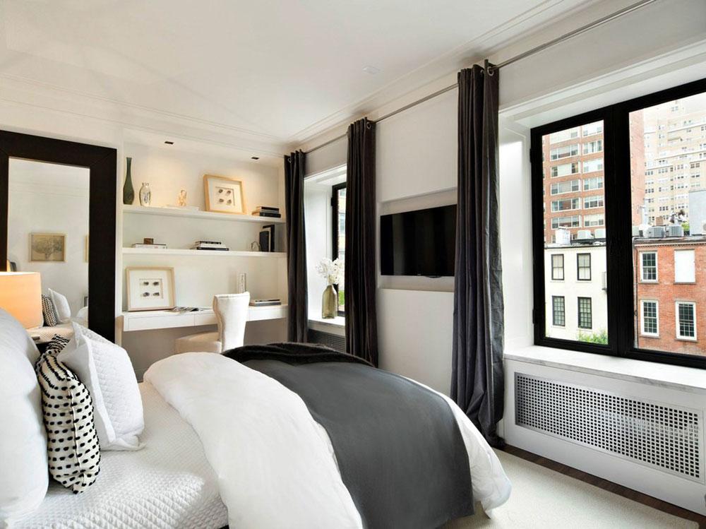 Alltid eleganta svarta och vita sovrumsidéer13-1 Svarta och vita sovrumsidéer - Alltid eleganta
