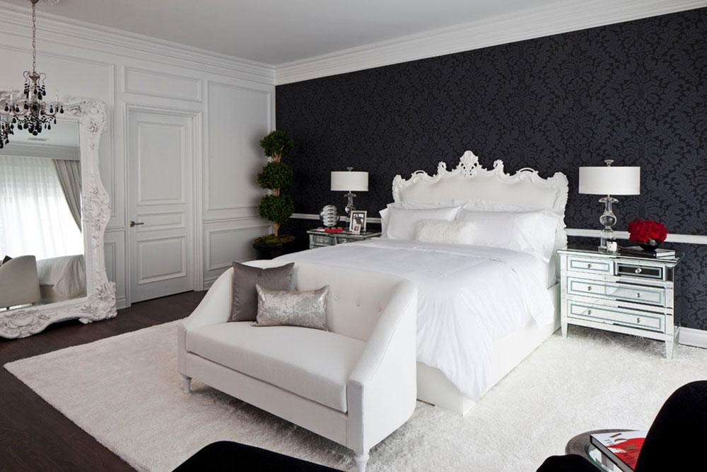 Alltid eleganta svarta och vita sovrumsidéer7 Svarta och vita sovrumsidéer - Alltid eleganta