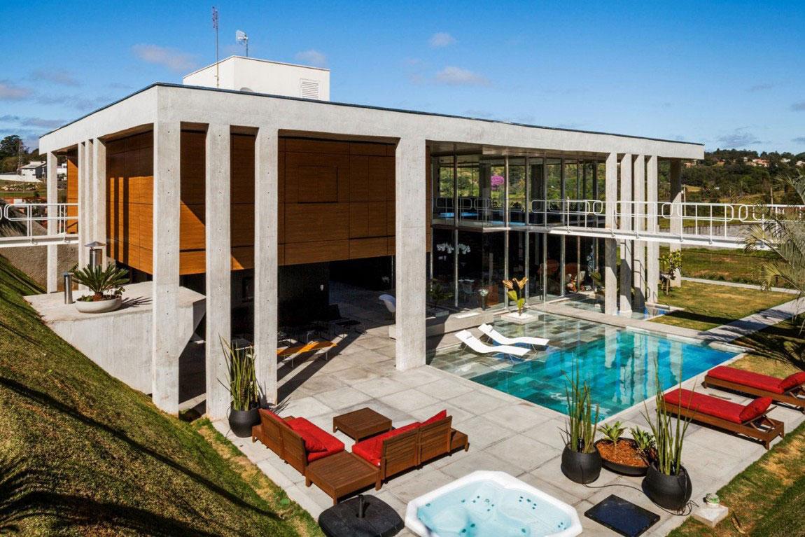 Botucatu House står som ett arkitektoniskt mästerverk 3 Botucatu House står som ett arkitektoniskt mästerverk