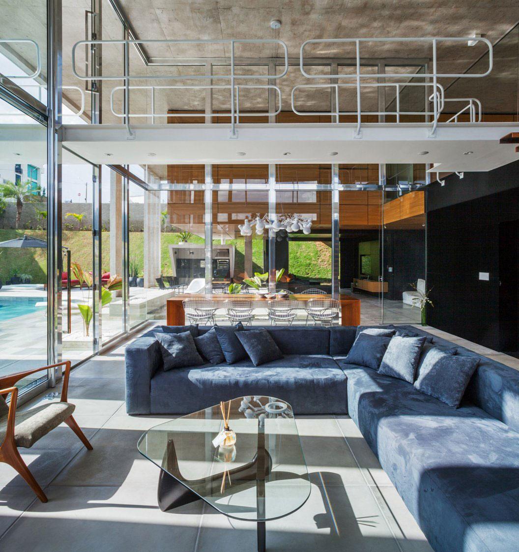 Botucatu House står som ett arkitektoniskt mästerverk 10 Botucatu House står som ett arkitektoniskt mästerverk