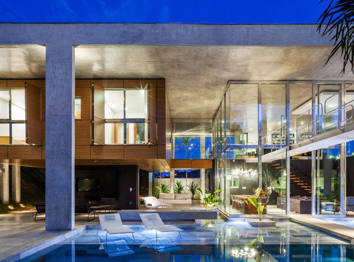 Botucatu House står som ett arkitektoniskt mästerverk 14 Botucatu House står som ett arkitektoniskt mästerverk