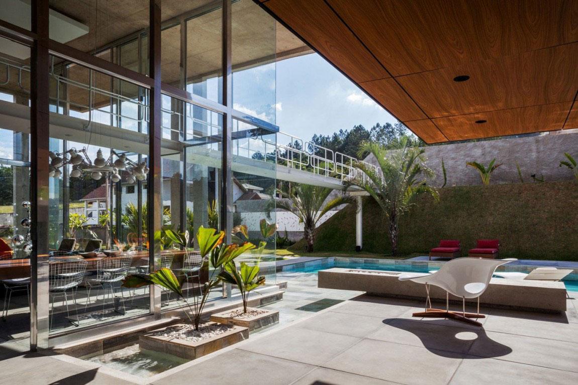 Botucatu House står som ett arkitektoniskt mästerverk 7 Botucatu House står som ett arkitektoniskt mästerverk