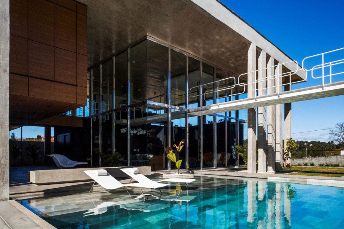 Botucatu House står som ett arkitektoniskt mästerverk-4 Botucatu House står som ett arkitektoniskt mästerverk