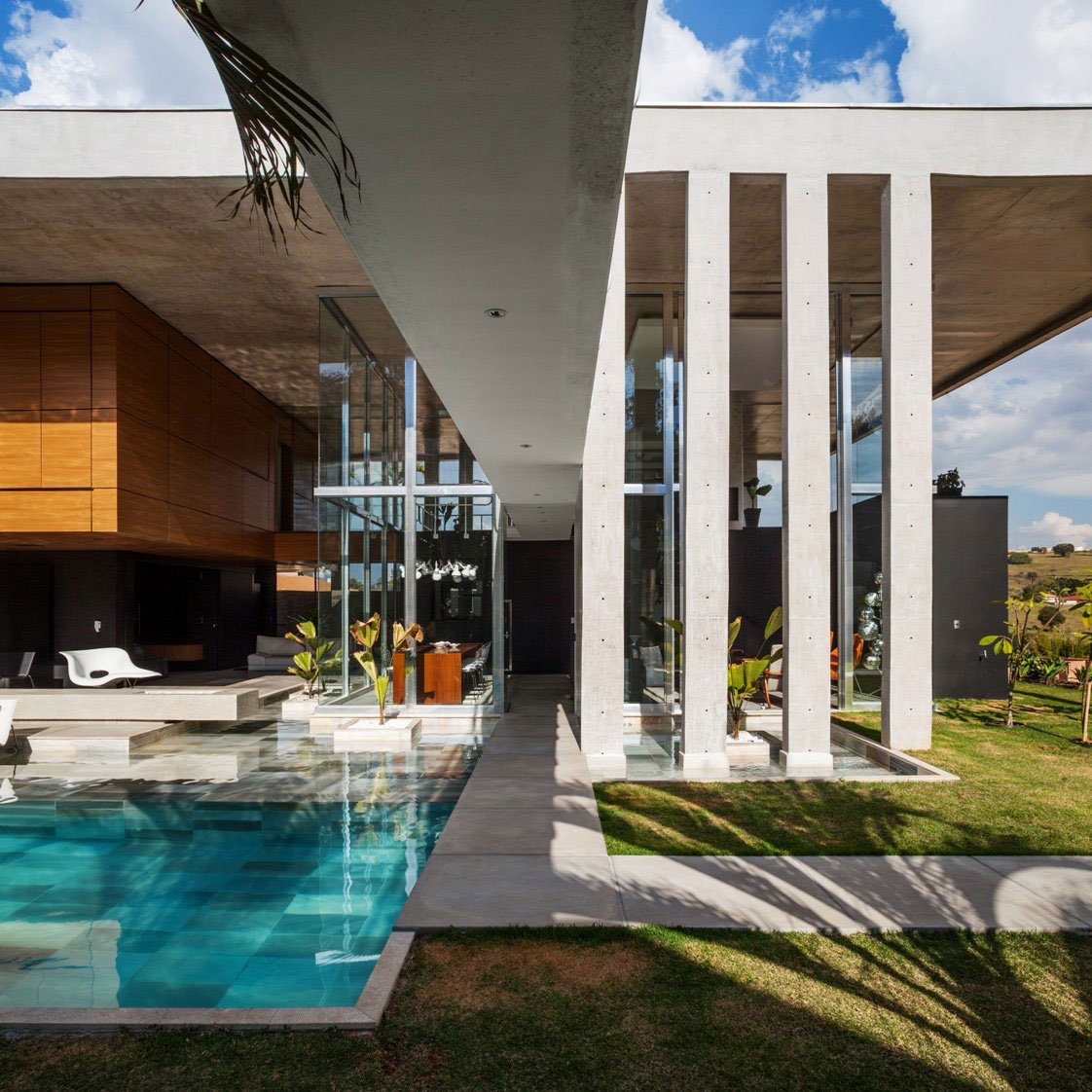 Botucatu House står som ett arkitektoniskt mästerverk 5 Botucatu House står som ett arkitektoniskt mästerverk