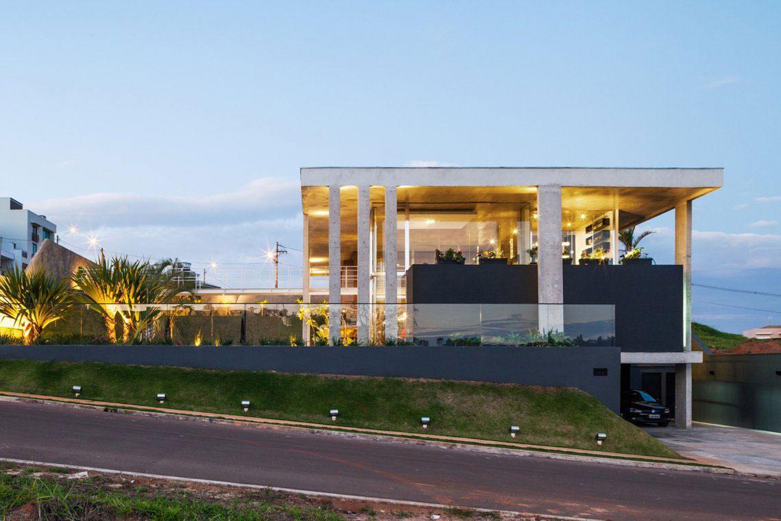Botucatu House står som ett arkitektoniskt mästerverk-17 Botucatu House står som ett arkitektoniskt mästerverk